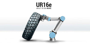 Nuevo brazo robótico para cargas pesadas UR16e