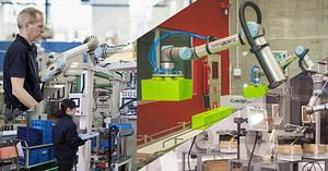 Cómo agregar valor en procesos de fabricación con robots colaborativos