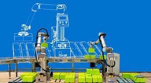 planificación y control de la producción mediante robótica colaborativa
