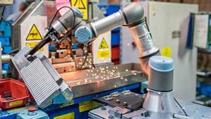 La robotica colaborativa ayuda a reducir las bajas laborales